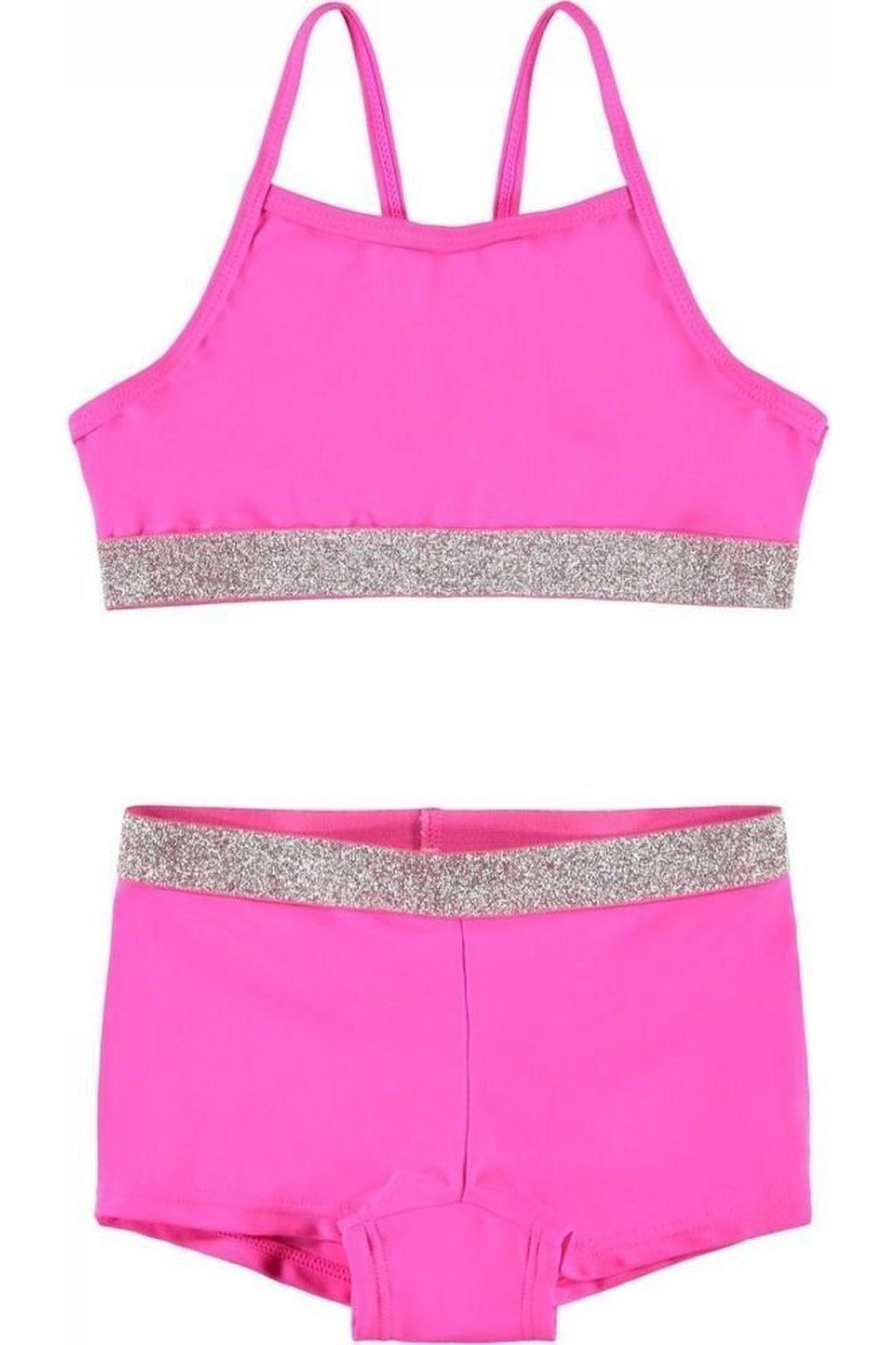 NAME IT Bikini Zilka voor meisjes - Roze - Maten: 116, 128, 140, 152, 164