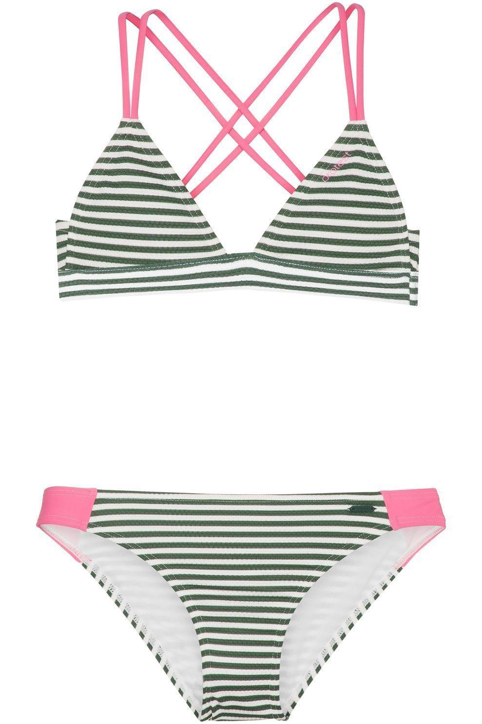 Protest Bikini Kalia Jr voor meisjes - MiddenGroen/Wit - Maten: 140, 152, 164, 176