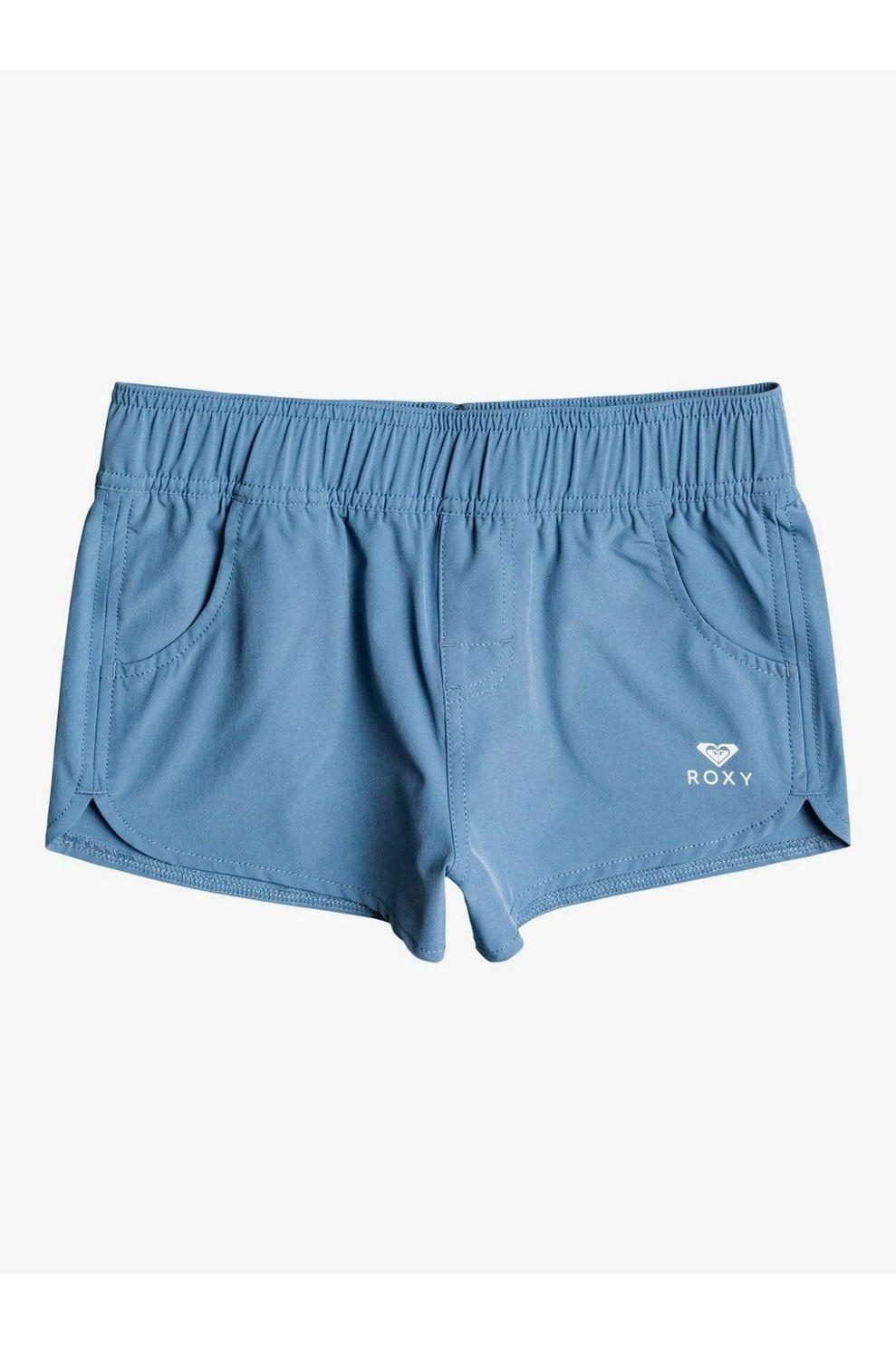 Roxy Short Rgy Wave 2 Inch voor meisjes - Blauw - Maten: 152, 164, 176