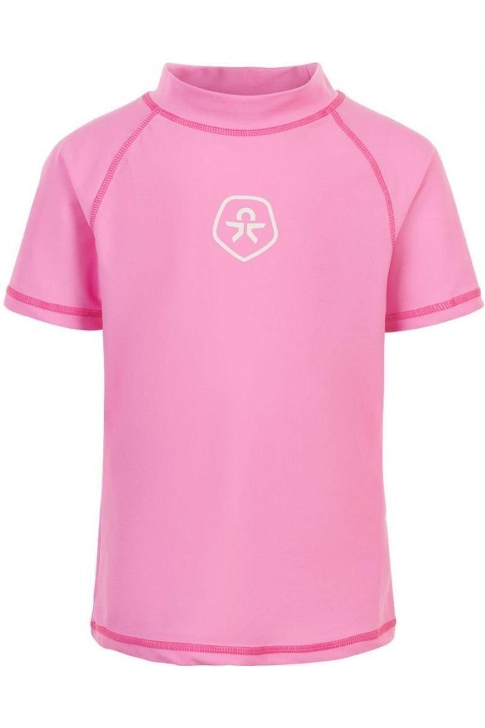 Color Kids Lycra Timon Ss Upf voor meisjes - Roze - Maten: 104, 116, 128, 140