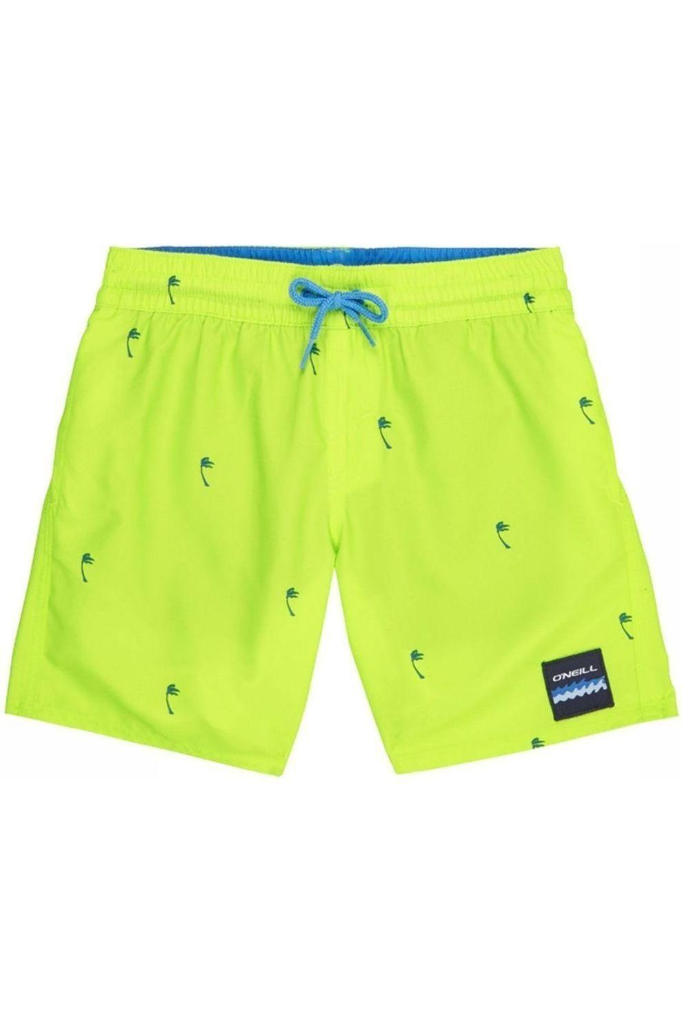 O'Neill Zwemshort Pb Mini Palms voor jongens - Limoen Groen/ Gemengd - Maat: 140