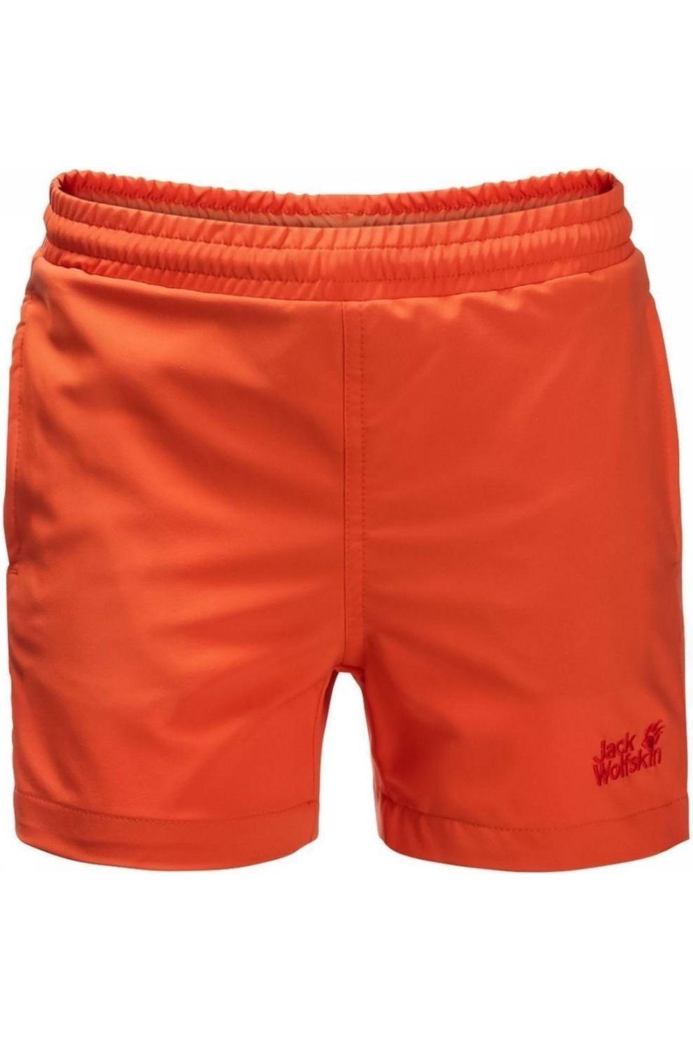 Jack Wolfskin Zwemshort Bay voor kids - Oranje - Maten: 116, 140