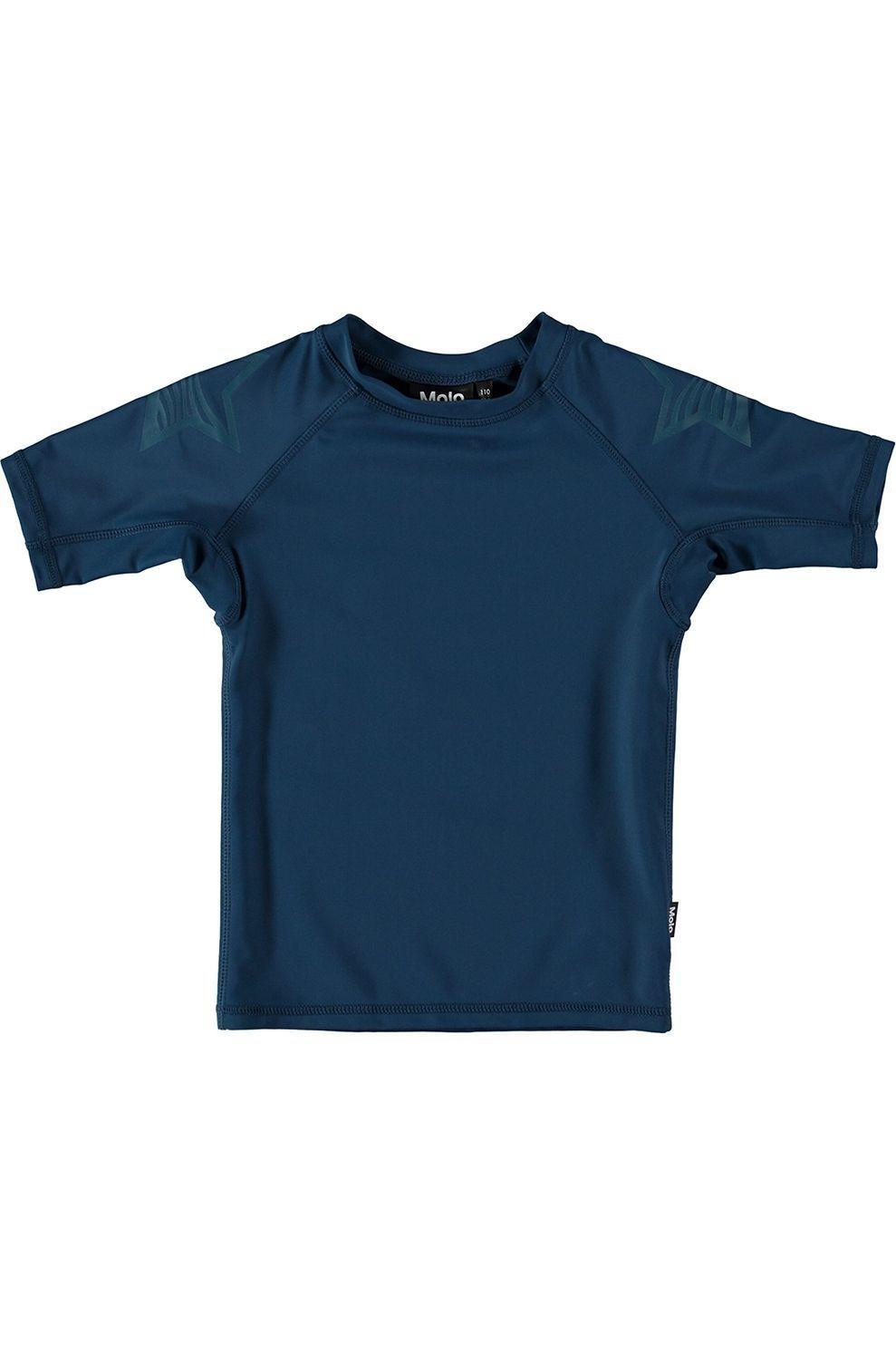 Molo Kids Lycra Neptune Solid voor jongens - Blauw - Maat: 140