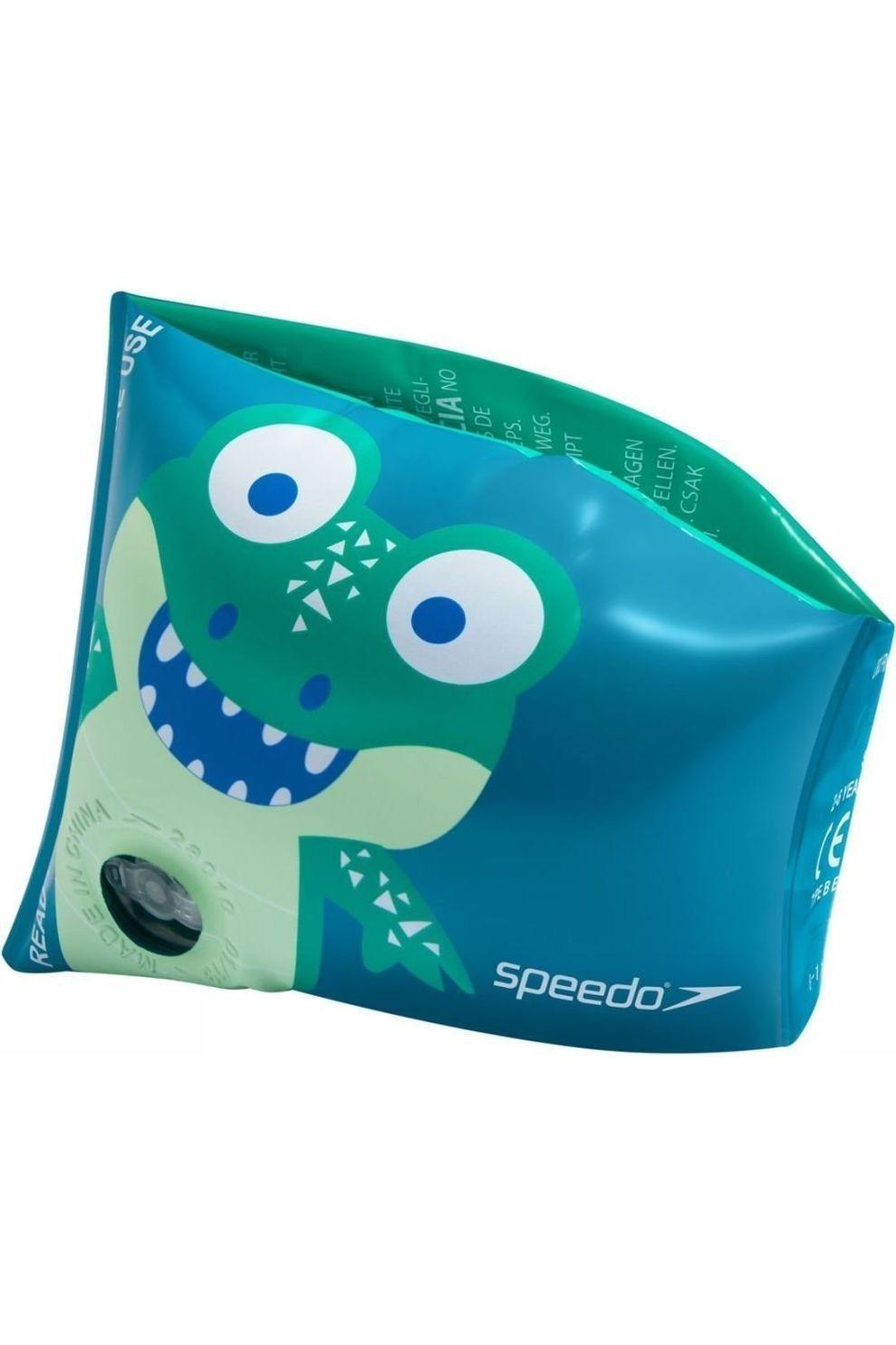 Speedo Zwemband Print voor jongens - Groen - Maat: 2
