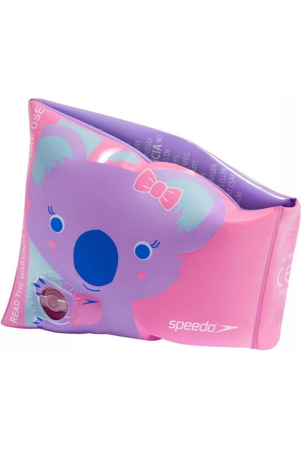 Speedo Zwemband Print voor meisjes - Roze - Maat: 2