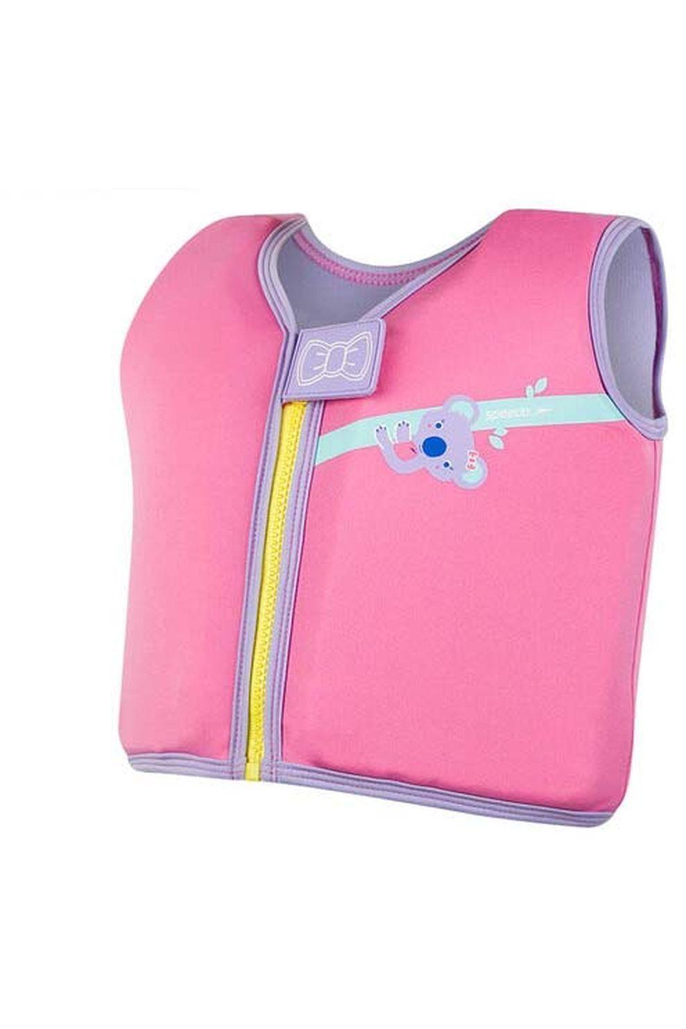 Speedo Zwemvest Print Float voor meisjes - Roze - Maten: 2, 4