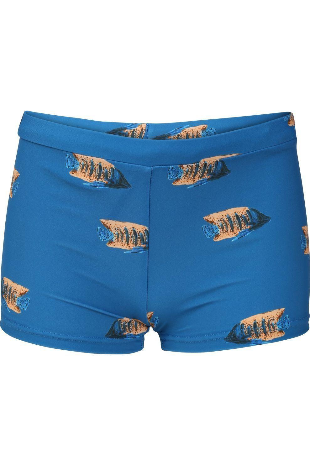 Shiwi Slip Moonfish voor jongens - Blauw/ Gemengd - Maten: 116, 128, 140, 152, 164