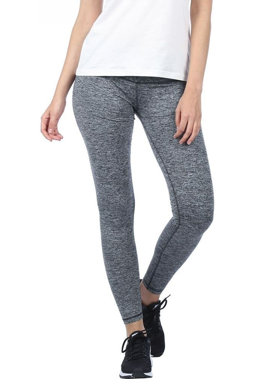 Skiny Legging Yoga&relax Long voor dames - Grijs Mengeling - Maten: 36, 38, 40, 42