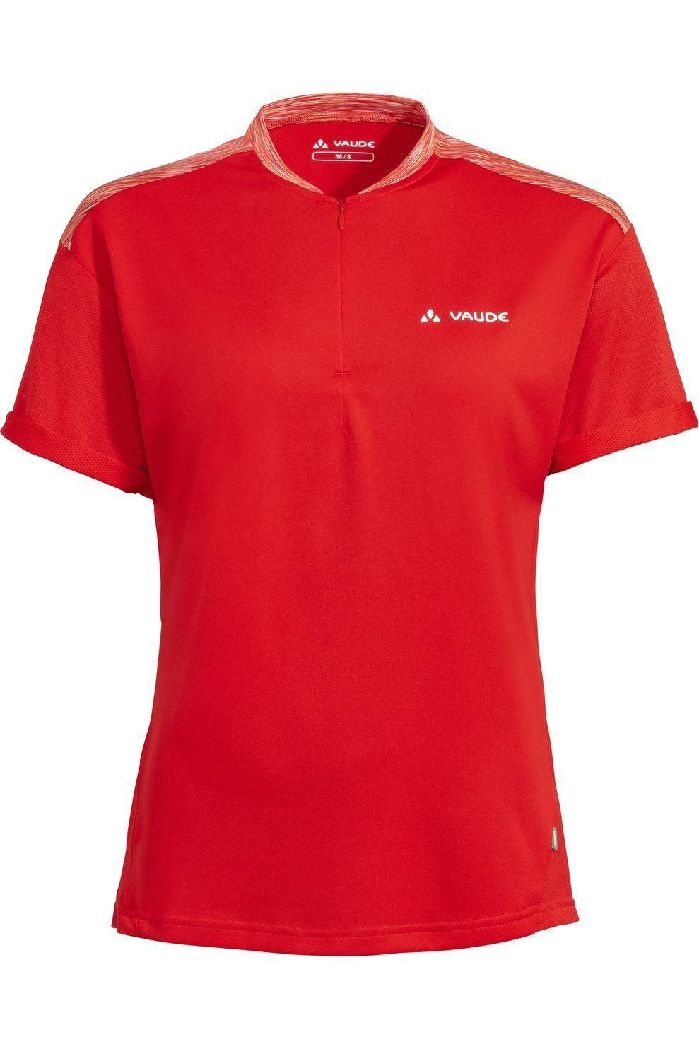VAUDE T-Shirt Qimsa voor dames - Rood - Maten: 36, 38, 40, 42, 44