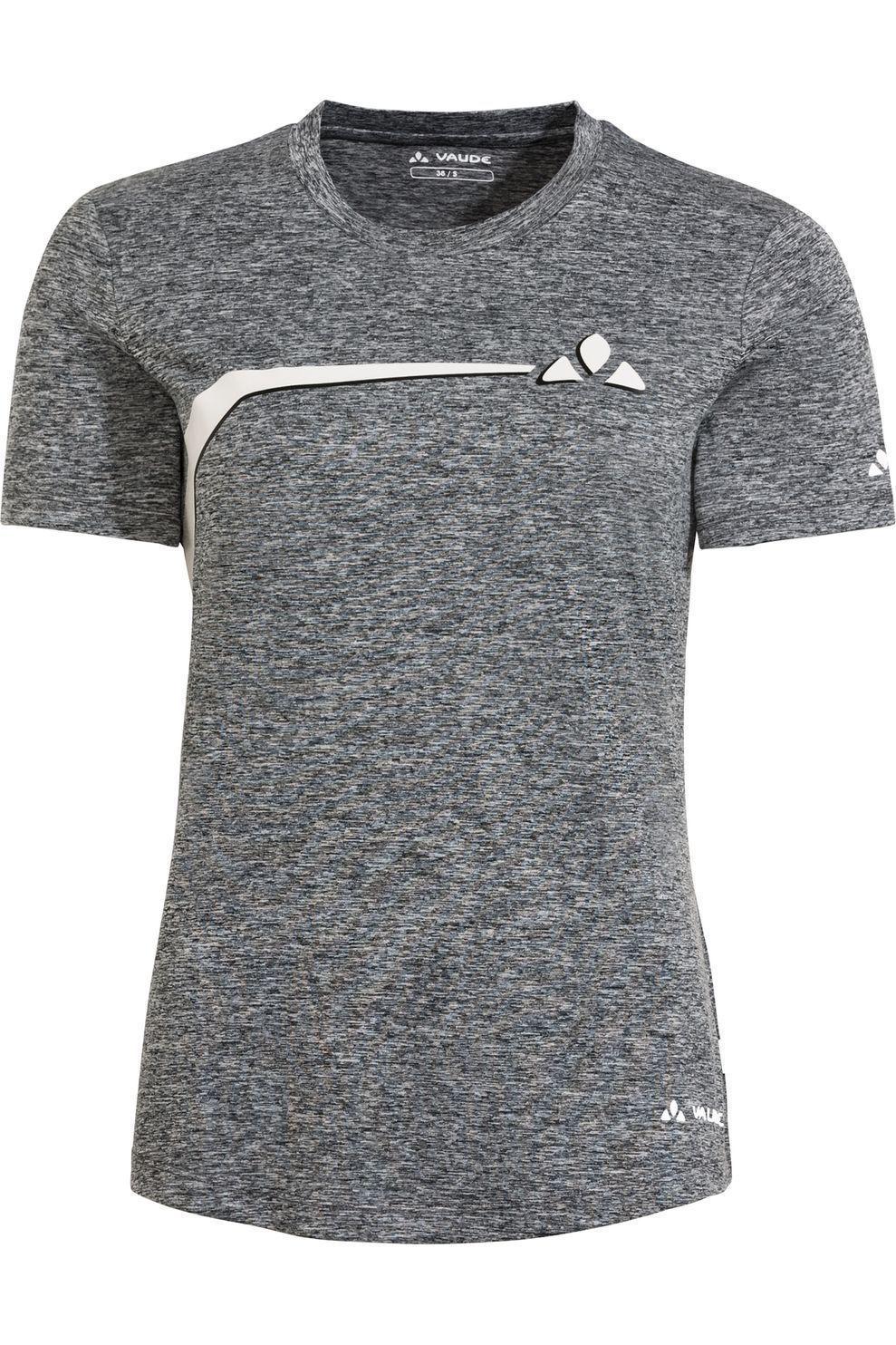 VAUDE T-Shirt Bracket voor dames - Zwart/Mengeling - Maten: 36, 38, 40, 42, 44