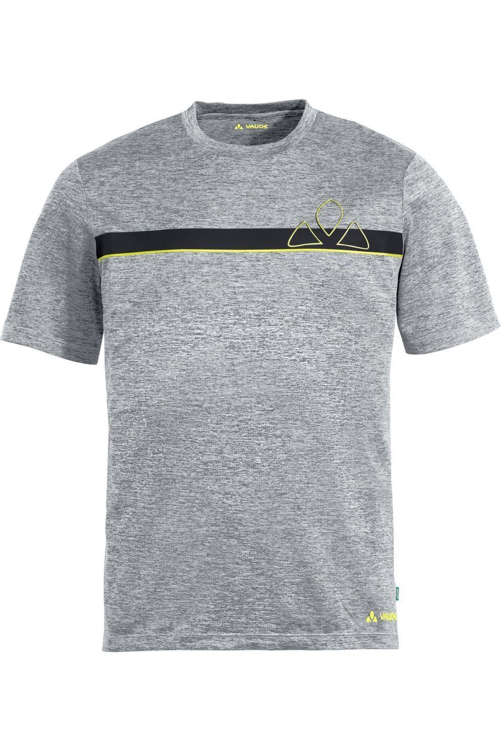VAUDE T-Shirt Bracket voor heren - Zwart/Mengeling - Maten: M, L, XL, XXL