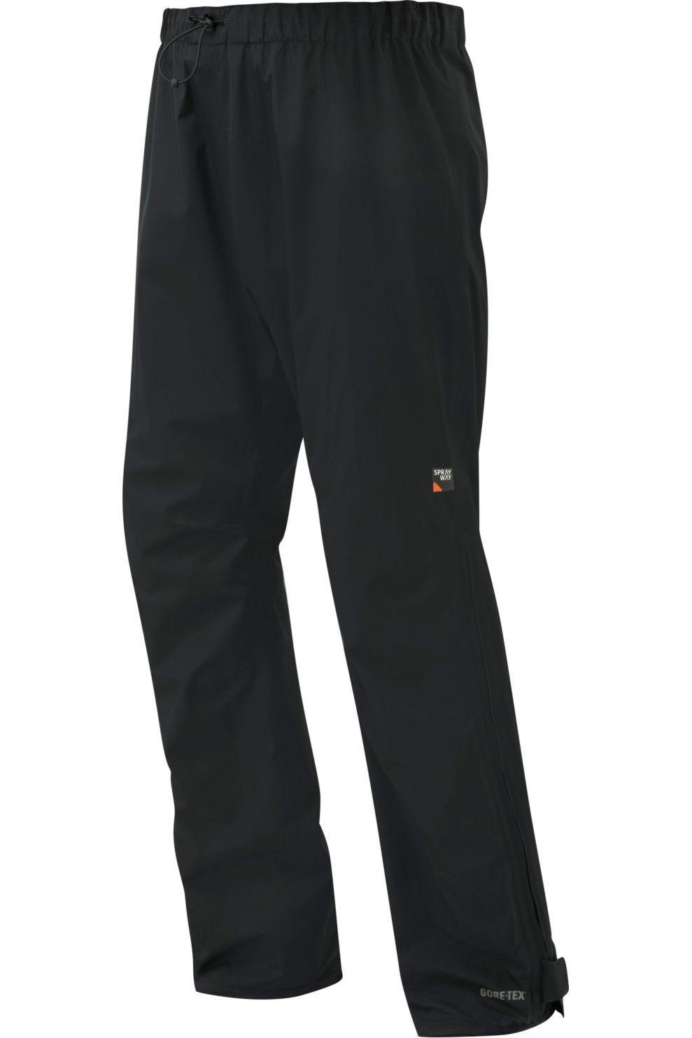 Sprayway Broek Nakuru Gore-Tex voor heren - Zwart - Maten: S, M, L, XL, XXL