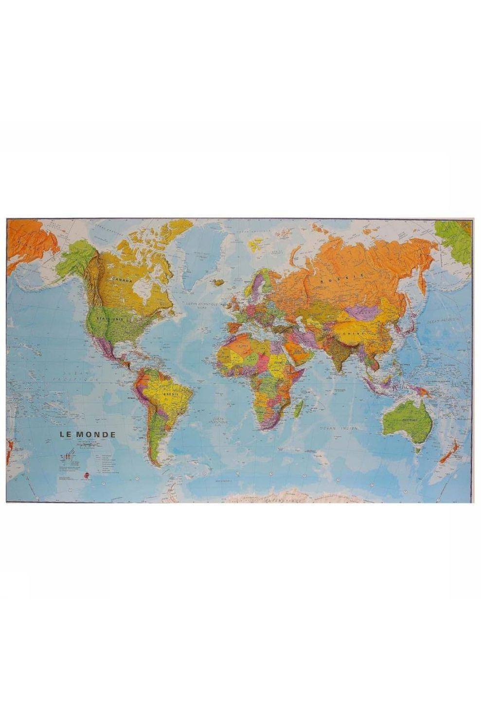 Maps International Map Monde Politique - 2020