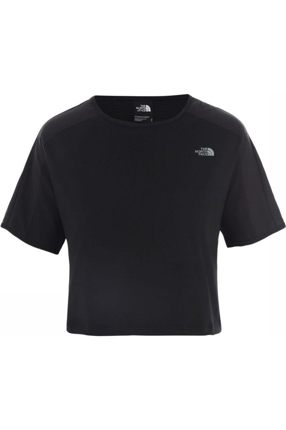 The North Face T-Shirt Women'S Active Trail S/S voor dames - Zwart - Maten: S, M, L, XL