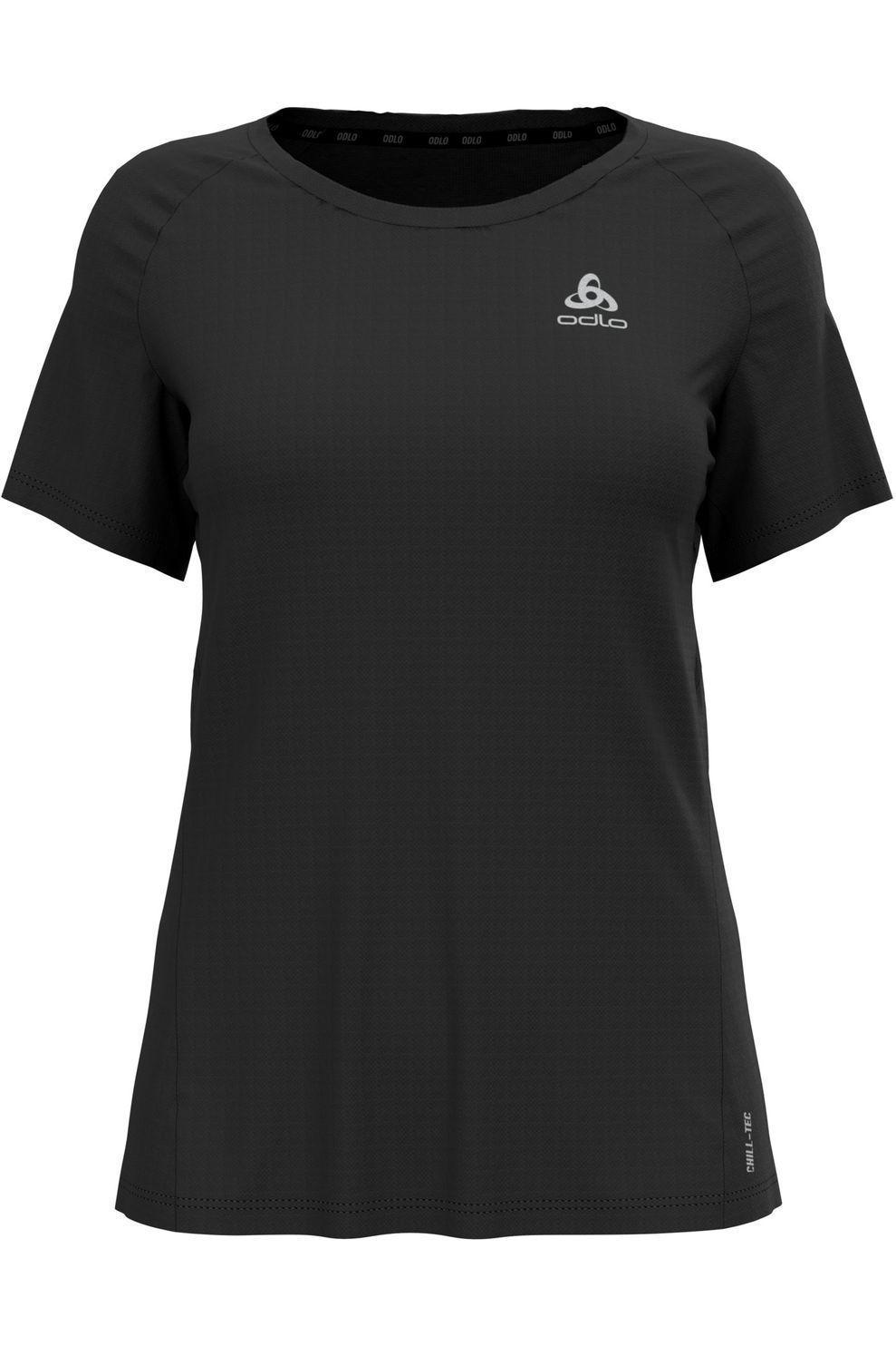 Odlo T-Shirt Essential Chill-Te voor dames - Zwart - Maten: S, M, L, XL