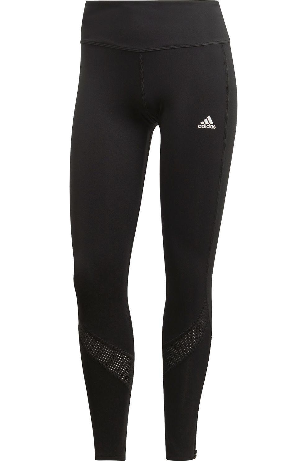 adidas Legging Own The Run voor dames - Zwart - Maten: S, M, L, XL