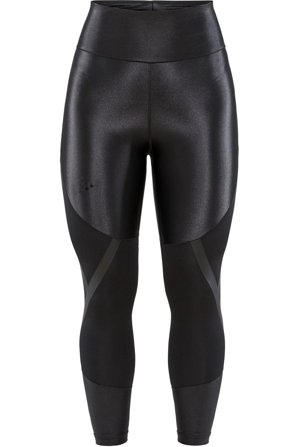 Craft Legging Asome High Waist Tights W voor dames - Zwart - Maten: M, L - Nieuwe collectie