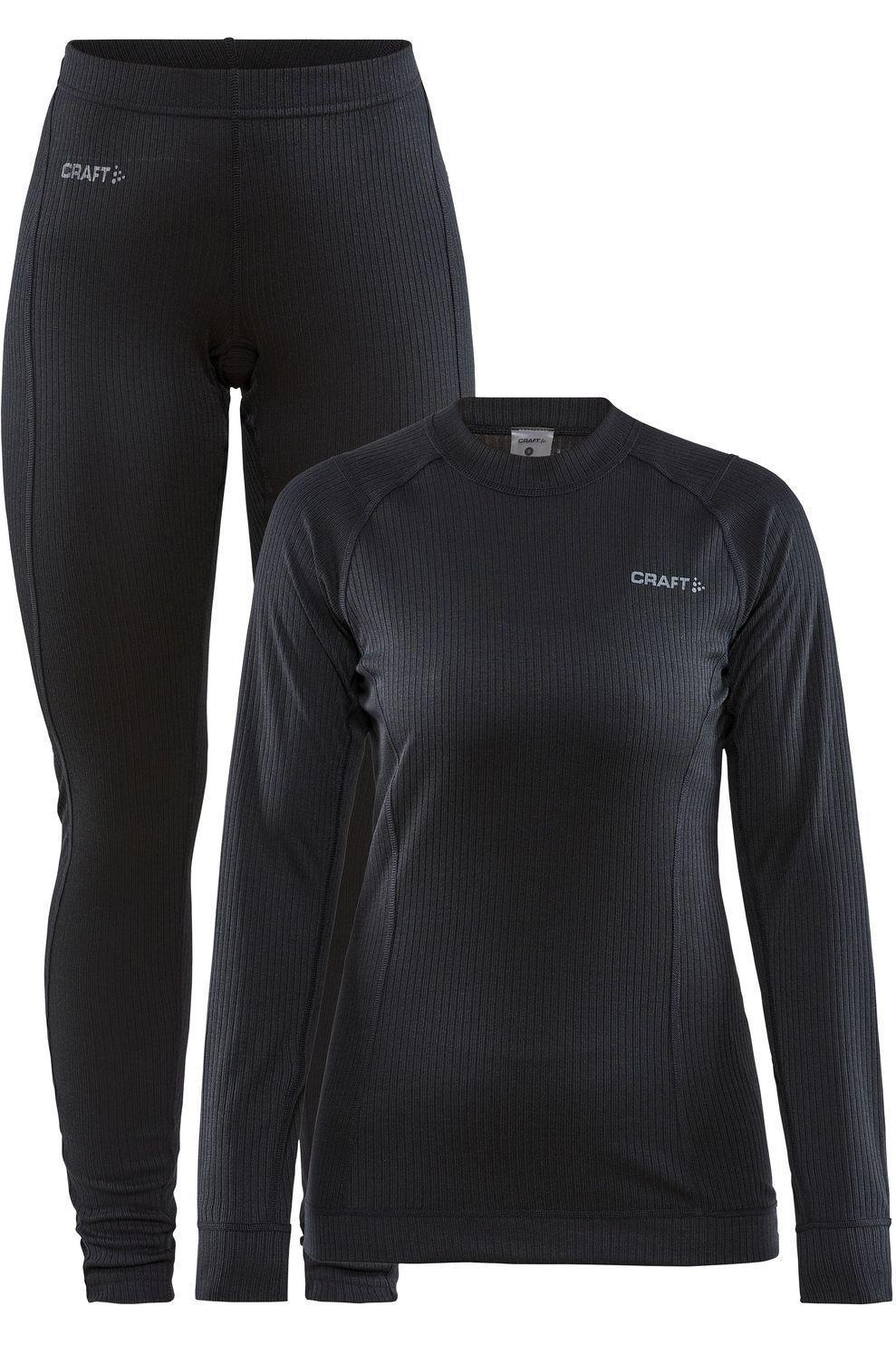 Craft Legging Core Dry Baselayer Set voor dames - Zwart - Maten: XS, M, L, XL, XXL - Nieuwe collecti