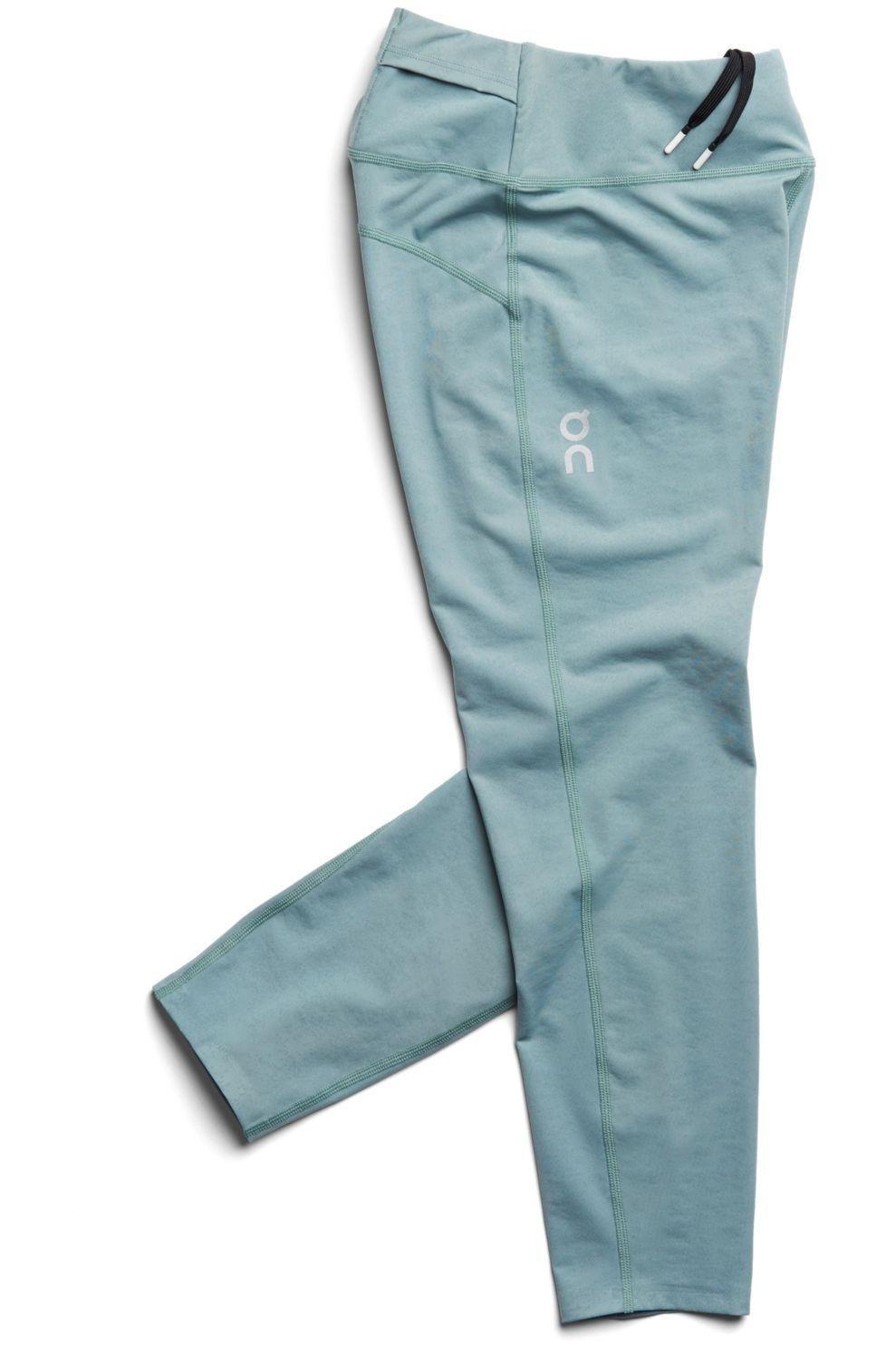 On Running Legging Tights 7/8 voor dames - Groen - Maten: XS, M, L - Nieuwe collectie