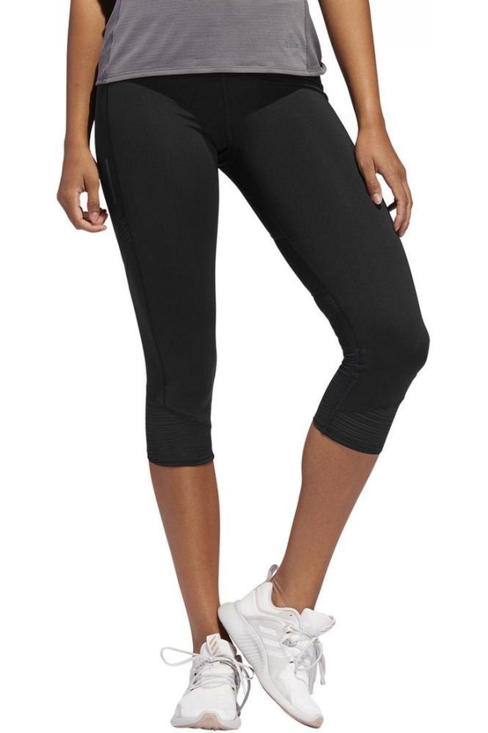 adidas Capri How We Do 3/4 W voor dames - Zwart - Maten: M, XL