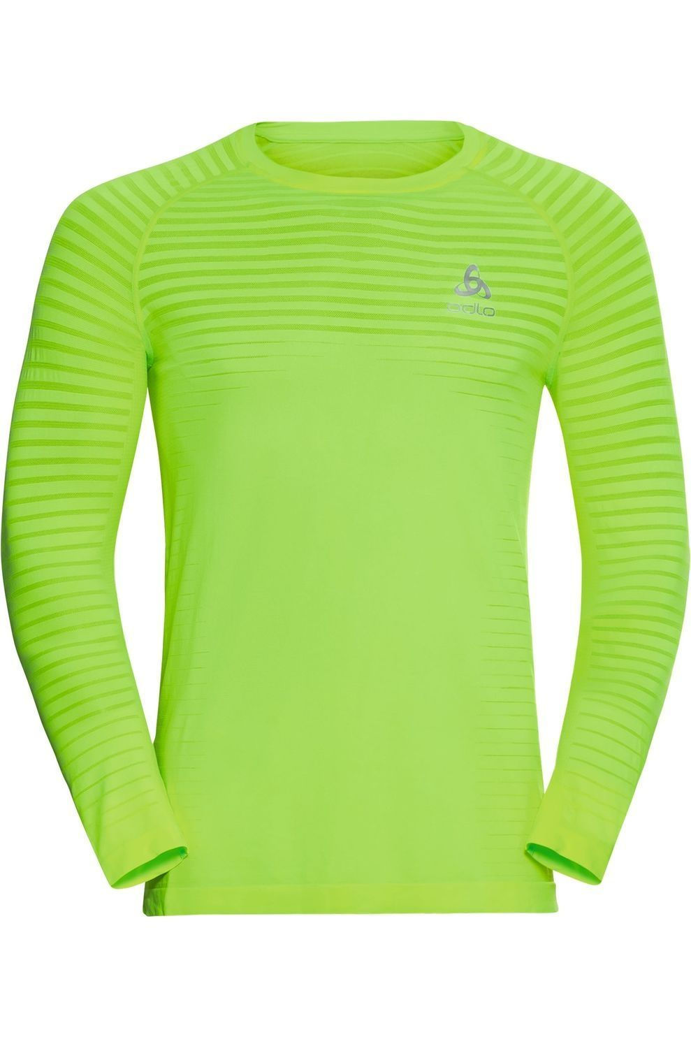 Odlo T-Shirt Essential Seamless voor heren - Limoen Groen/Mengeling - Maten: S, M, L, XL, XXL