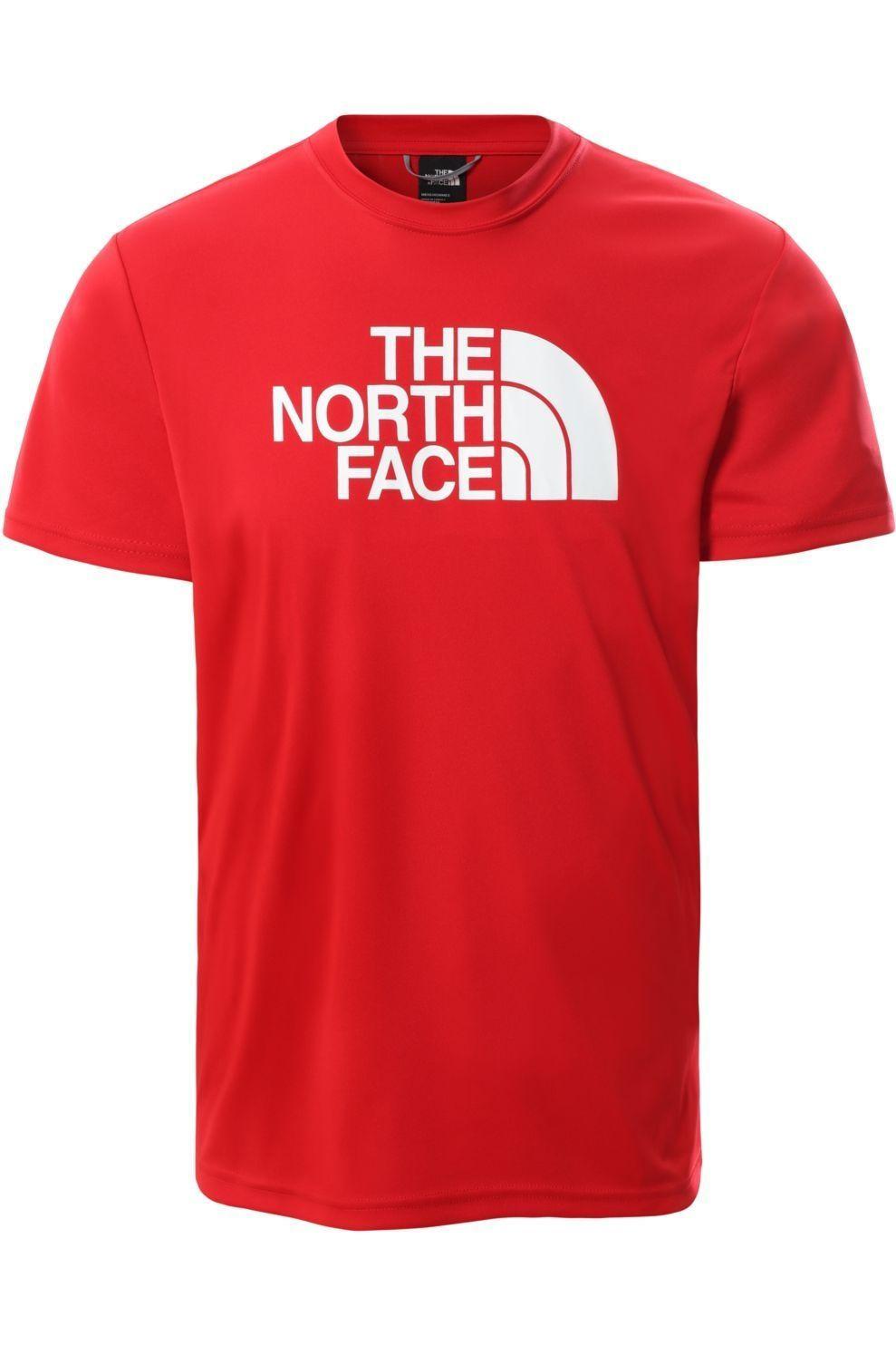 The North Face T-Shirt Men'S Reaxion Easy voor heren - Rood - Maten: S, M, L