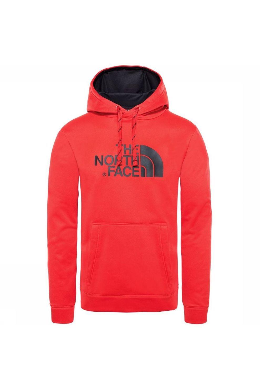 The North Face Trui Surgent Halfdome Po Hoodie voor heren - Rood - Maten: S, M, L, XL