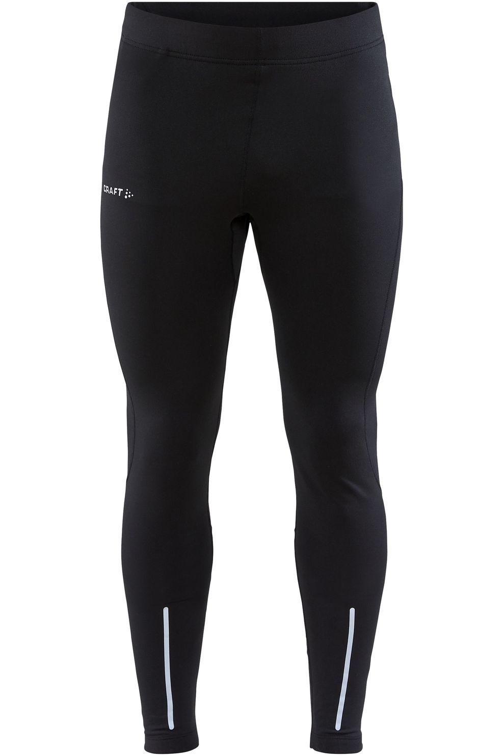 Craft Legging Adv Essence Warm Tights M voor heren - Zwart - Maat: S - Nieuwe collectie