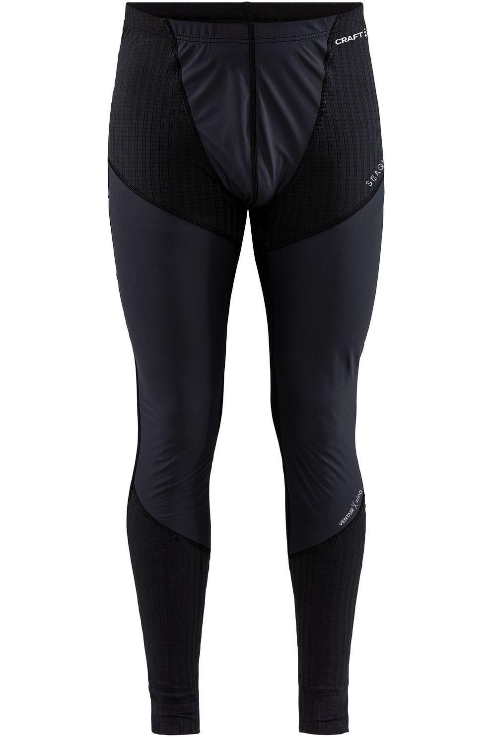 Craft Legging Active Extreme X Wind voor heren - Zwart - Maten: S, M, L, XL, XXL - Nieuwe collectie