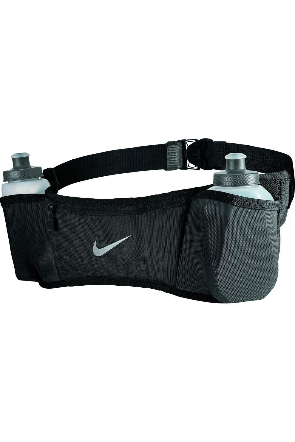 Nike Equipment Drinksysteem Double Pocket Belt 20Oz 2.O - Zwart