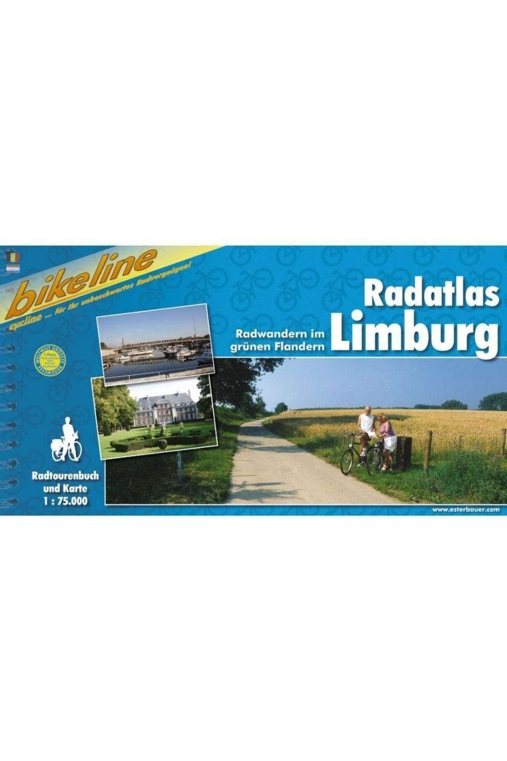 Bikeline Limburg Radatlas Radwandern im grünen Flandern - 2006