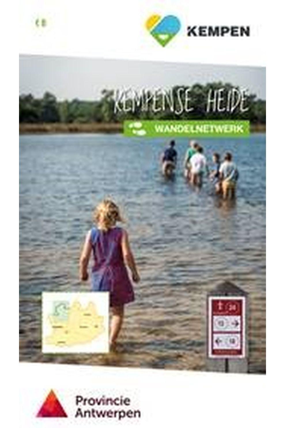 Knooppunt Reisboek Kempense Heide wandelnetwerk + inspiratieboekje - 2020