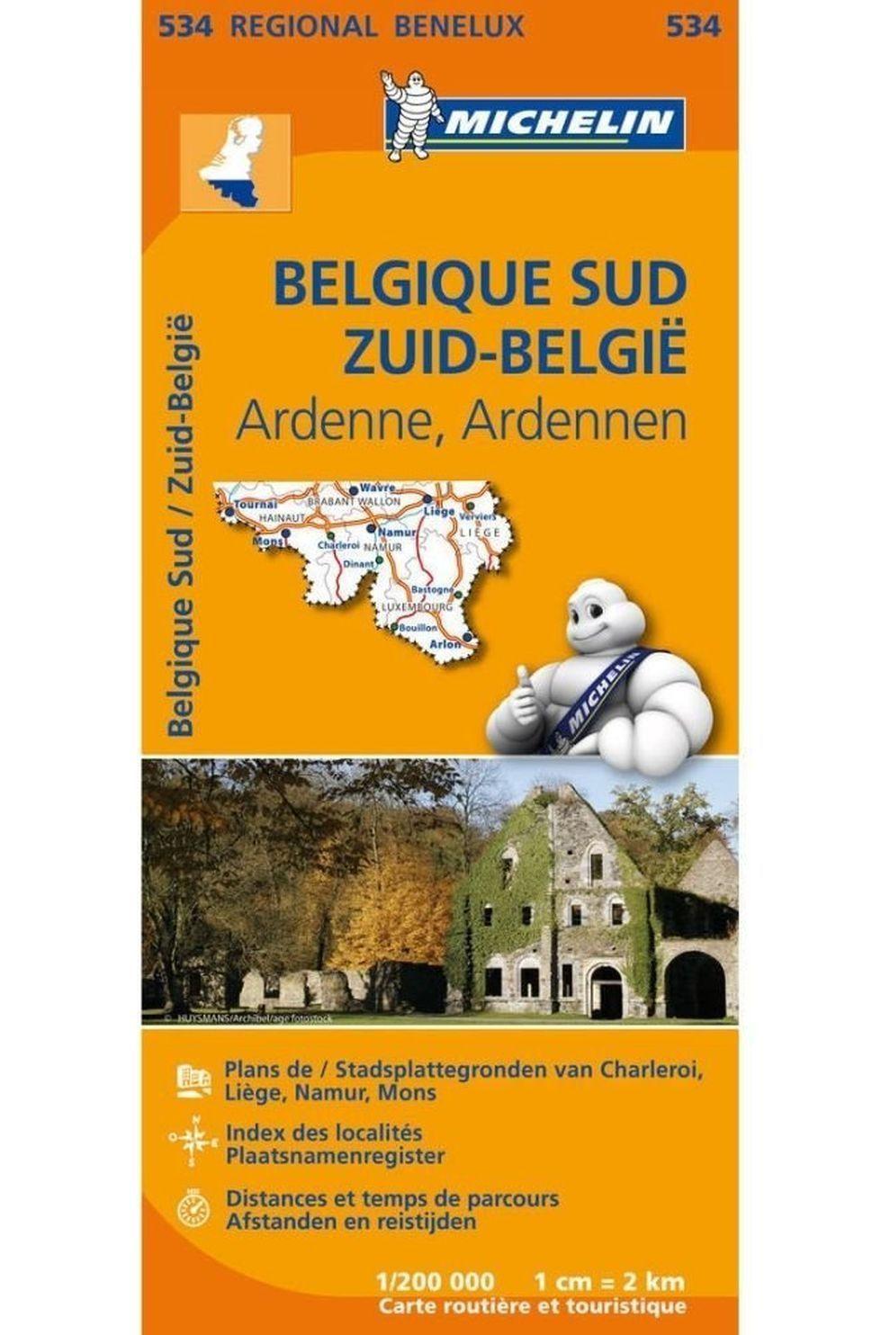 Michelin Reisgids België Zuid Ardennen 534 mich (r) - 2020