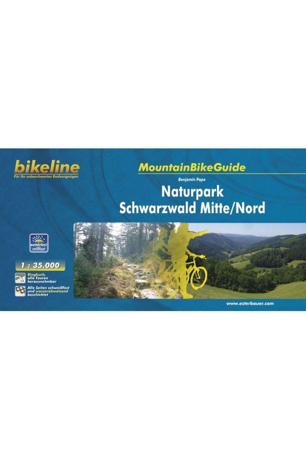 Bikeline Schwarzwald Mitte/nord Naturpark Mountainbikeguide Gps