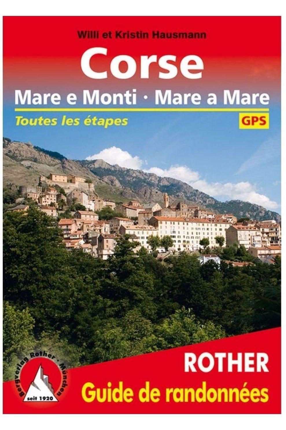 Rother Reisboek Corse - Mare e Monti - Mare a Mare guide rando *2018 - 2019