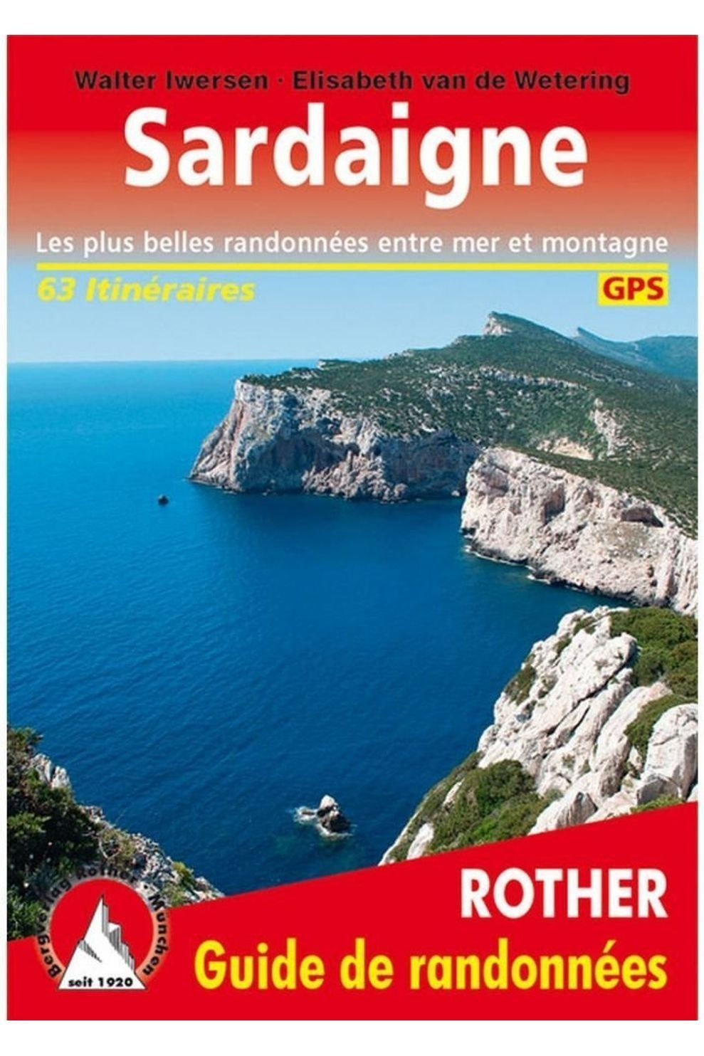 Rother Sardaigne Gps Guide 63 Itin.