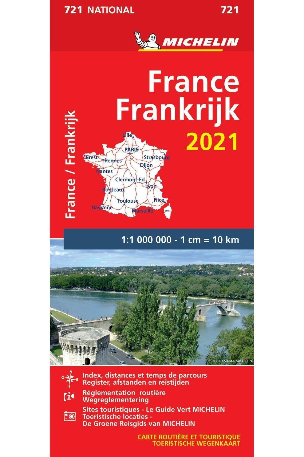 Michelin Boek Mic Mi.721 - 2021