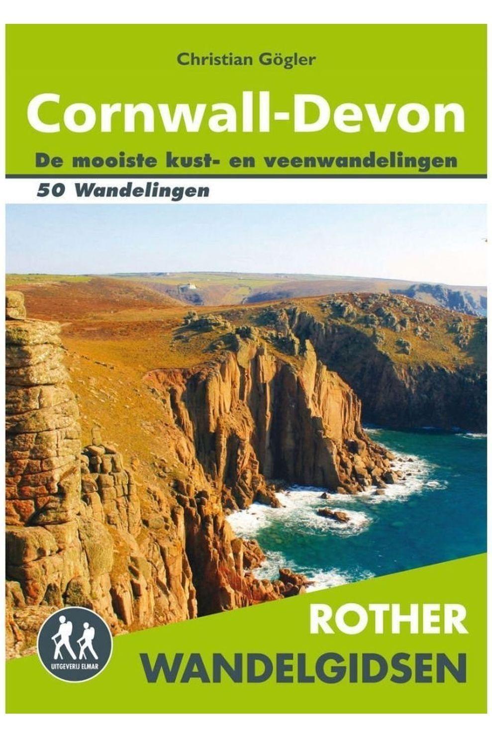 Rother Reisboek Cornwall - Devon wandelgids 50 wandelingen - 2016