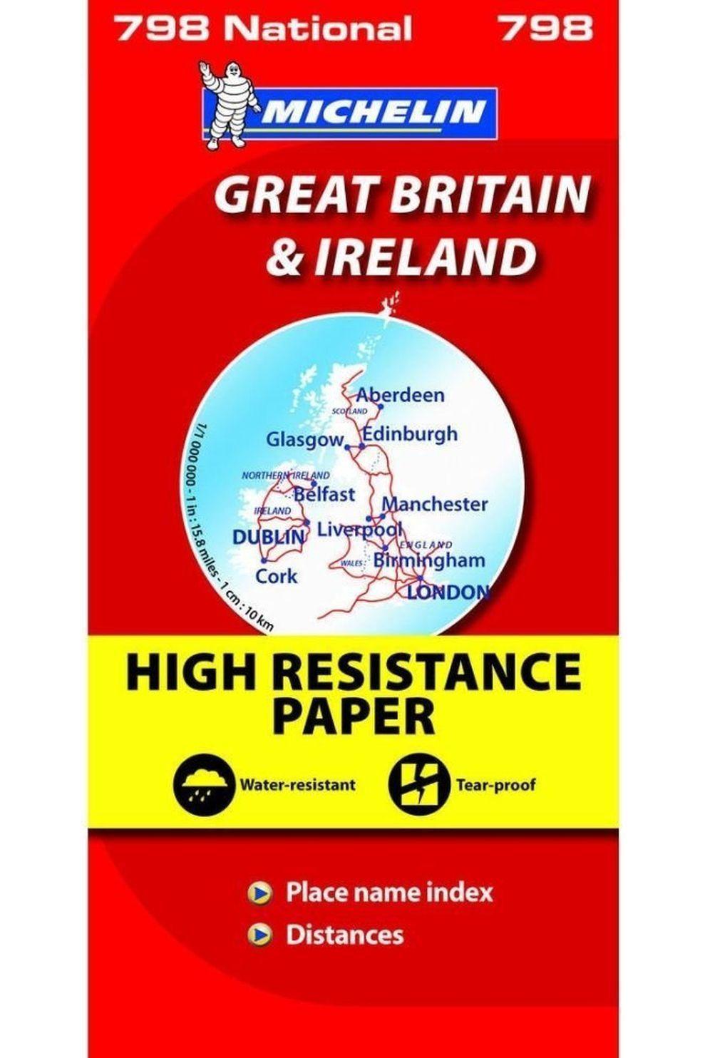 Michelin Gr. Brittannië & Ierland wp 798 mich (r) - 2016