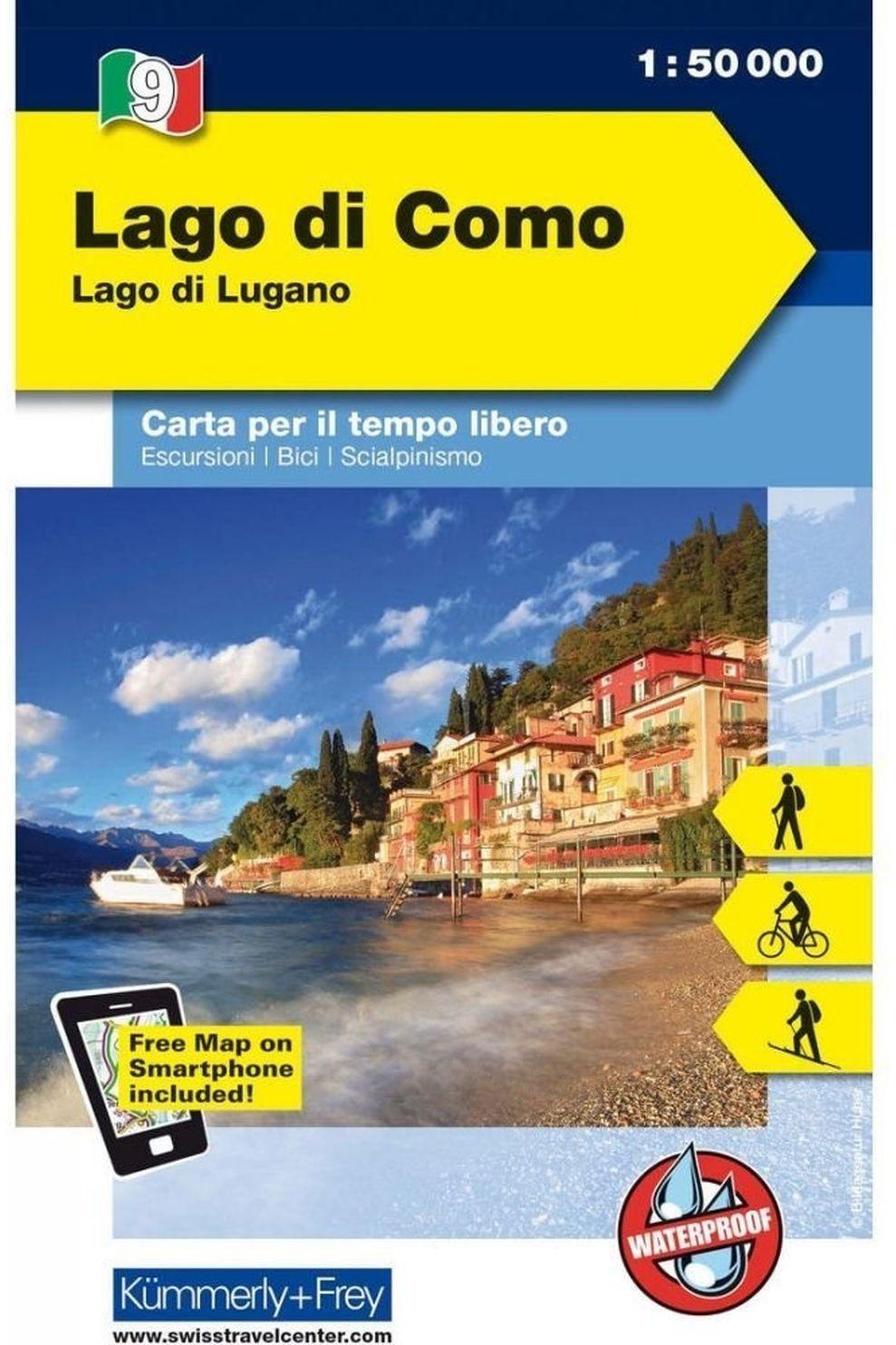K&F Lago Di Como 9 Lago Di Lugano K&F R/V Wp - 9022