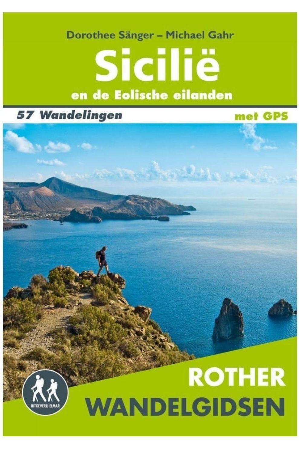 Rother Livre De Voyage Sicilië Wandelgids 57 Wandelingen Met Gps