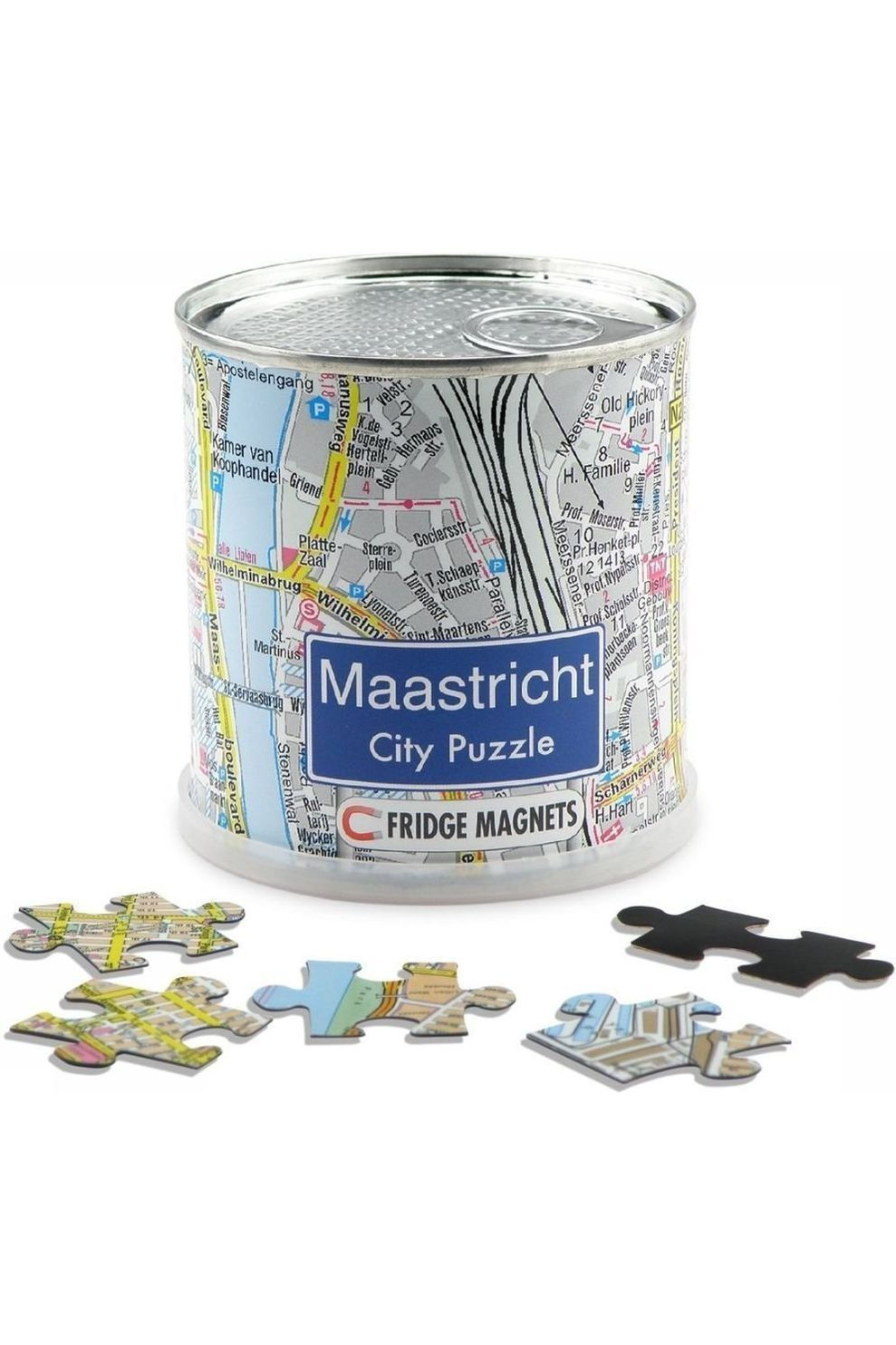 EXTRAGOODS Maastricht City Puzzle Magnets - 2015