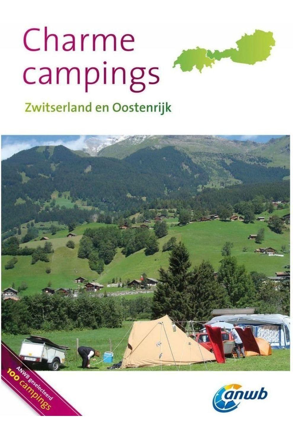 ANWB Reisgids Charmecampings Oostenrijk, Zwitserland - 2014