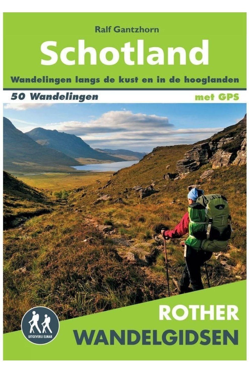 Rother Livre De Voyage Schotland Wandelgids 50 Wandelingen Met Gps