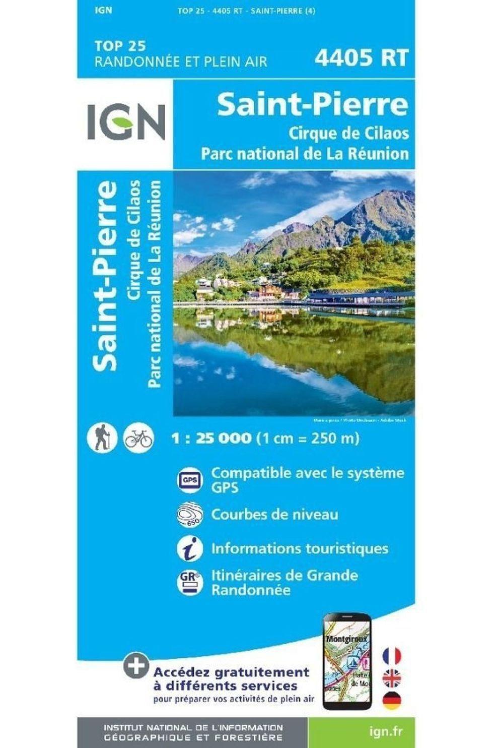 IGN St-Pierre - Cirque De Cilaos (Ile Réunion) Gps - 2020