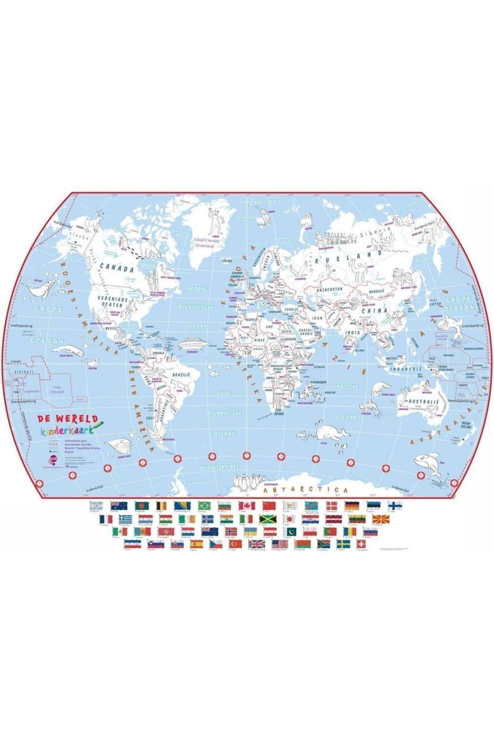 Maps International Reisboek Doodle wereld mi - om in te kleuren - 2015