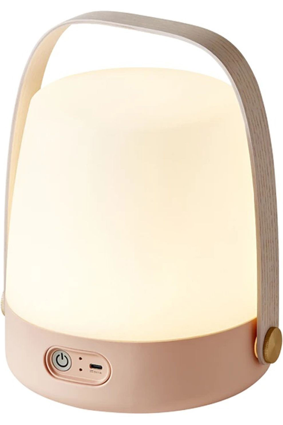 Kooduu Staanlamp Lite-Up - Wit/Roze