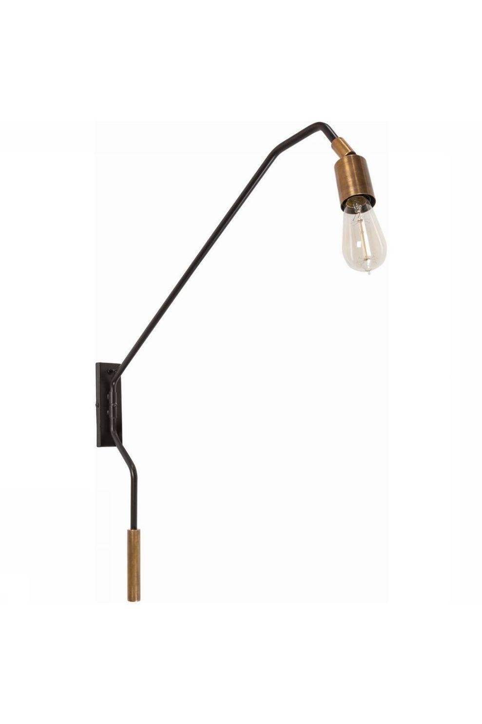 Yaya Home Wall Lamp Pipe - Bruin
