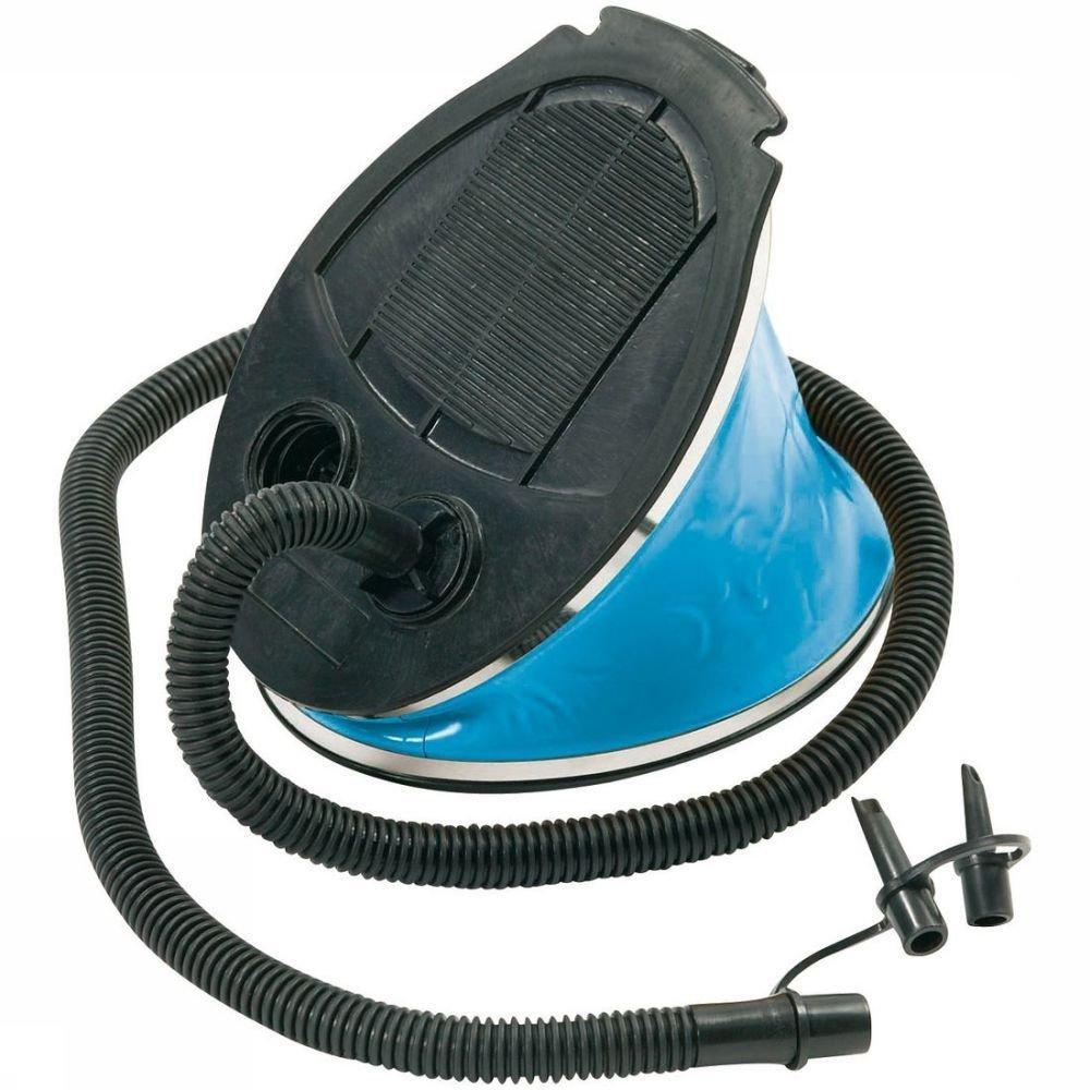 Bo-Camp Pomp Voetpomp 3 Liter Zwart-Blauw