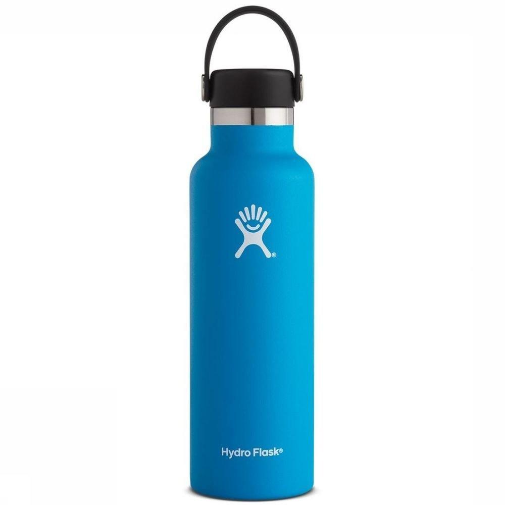 Hydro Flask Isolatiefles 21oz-621ml Standard Mouth Blauw